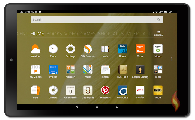 Kindle Fire 5th Generation: Fire OS 5