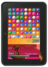 Jewels: Free Game on Kindle Fire