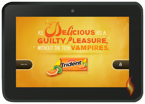 Kindle Fire HD 8.9: Special Offer for Trident gum