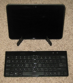 Kindle Fire HD 8.9 with External Keyboard