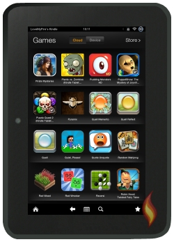 Kindle Fire Carousel with Games
