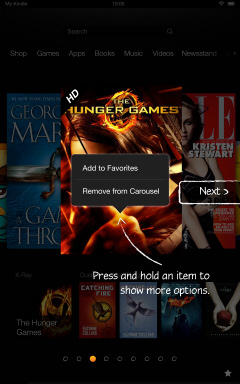 Kindle Fire HD Getting Started Tutorial Page 3