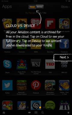 Kindle Fire HD Getting Started Tutorial Page 6