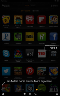Kindle Fire HD Getting Started Tutorial Page 7