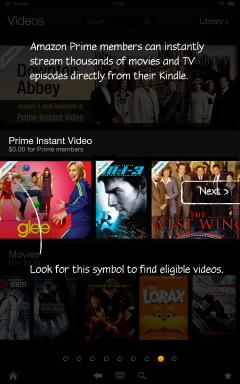 Kindle Fire HD Getting Started Tutorial Page 8