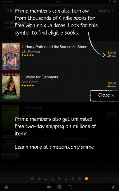 Kindle Fire HD Getting Started Tutorial Page 9