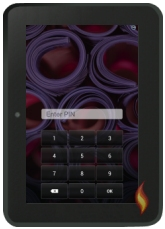 Kindle Fire Lock Screen Password Pin