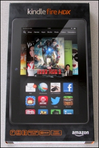 New in Box Kindle Fire HDX