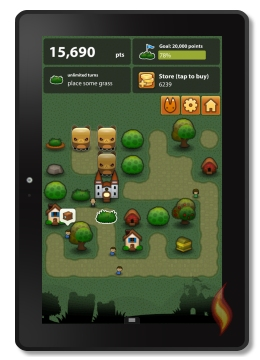 Kindle Fire Game Triple Town