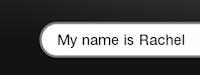 Sentence: My Name is Rachel