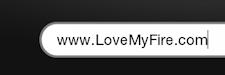 Phrase: www.LoveMyFire.com