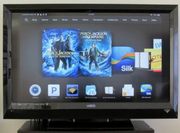 Kindle Fire HDX Connected to HDTV