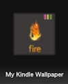 My Kindle Wallpaper App
