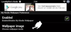 My Kindle Wallpaper App Wallpaper Image