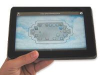 Holding Kindle Fire With Left Hand