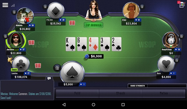 Kindle Fire Poker Games: World Series of Poker - WSOP Texas Holdem Free Casino
