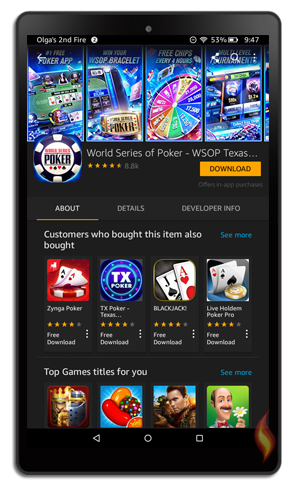 Poker Games For Kindle Fire