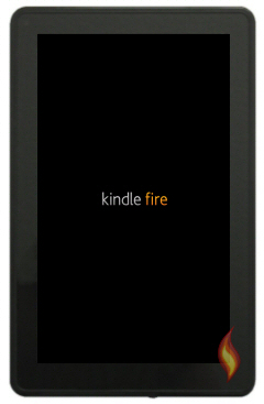 Kindle Fire Booting Up