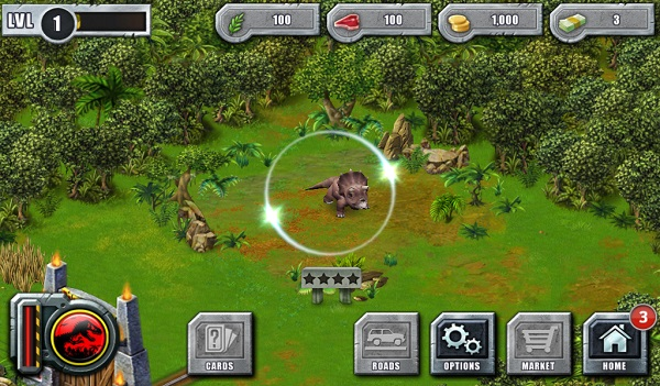 Simulation Games For Kindle Fire: Jurassic Park Builder
