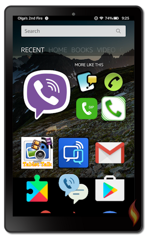 Kindle Fire Texting Apps