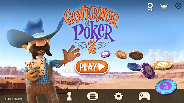 Kindle Fire Poker Games: Governor of Poker 2