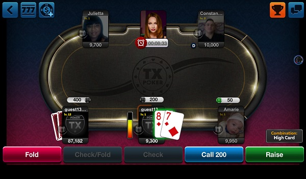 Kindle Fire Poker Games: TX Poker - Texas Holdem Poker