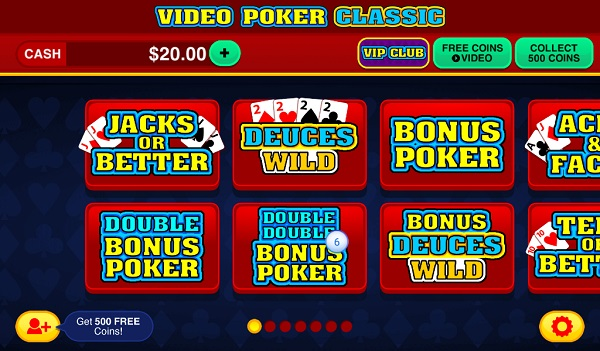 Poker Games For Kindle Fire: Video Poker Classic