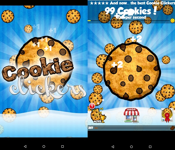 Kindle Fire Simulation Games: Cookie Clickers