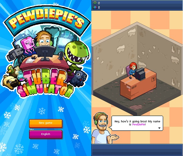 Kindle Fire Simulation Games: PewDiePie's Tuber Simulator