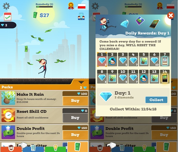 Simulation Games For Kindle Fire: Tap Tycoon