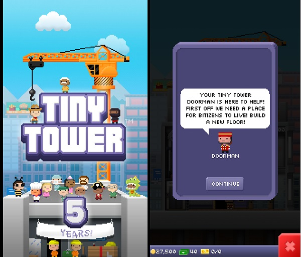 Kindle Fire Simulation Games: Tiny Tower