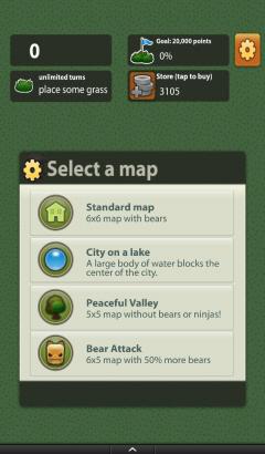 Triple Town Select a Map