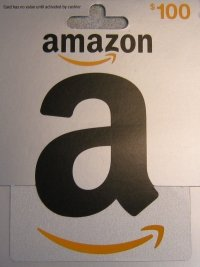 How To Use Amazon Gift Card: Amazon Gift Card $100