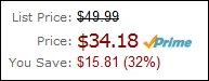 Amazon Prime Price Check Mark