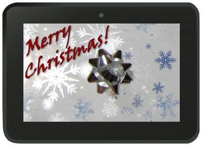 A Kindle Fire!! Merry Christmas!