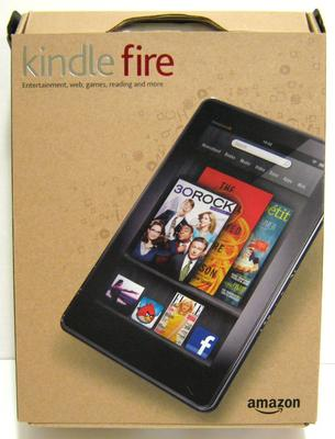 A New Kindle Fire In Its Box