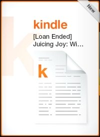 Kindle book loan ended