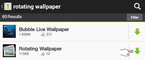 Download Rotating Wallpaper App from 1Mobile