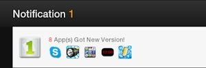 Kindle Fire 1Mobile Market Notification