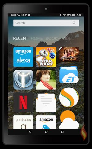 Amazon Kindle Fire 2017 Tablet