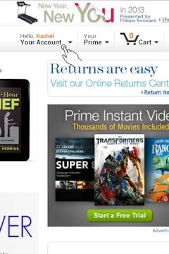 Your Amazon Account