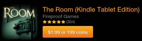 Kindle Fire Game Price: The Room