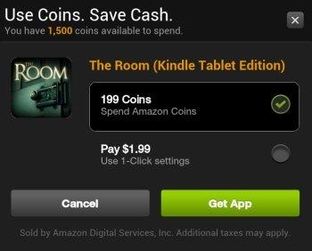 New Amazon App Store Get App Window