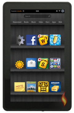 Kindle Fire Apps Favorite Shelf
