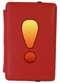 Kindle Fire Cover with Exclamation Point