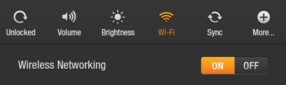 Screenshot of Wi-Fi