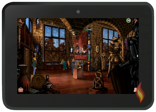 Broken Sword Game on Kindle Fire