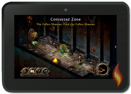 Kindle Fire Puzzle Quest 2 Dungeon