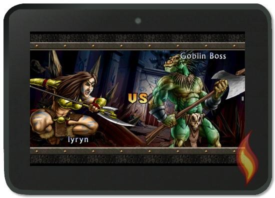 Kindle Fire Puzzle Quest 2 Goblin Boss