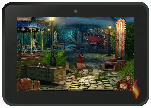 Weird Park Game on Kindle Fire
